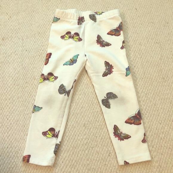 GAP Other - BabyGap butterfly leggings!